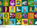 L'alphabet D'animaux A Placé Pour L'éducation D'abc D concernant J Apprend L Alphabet Maternelle
