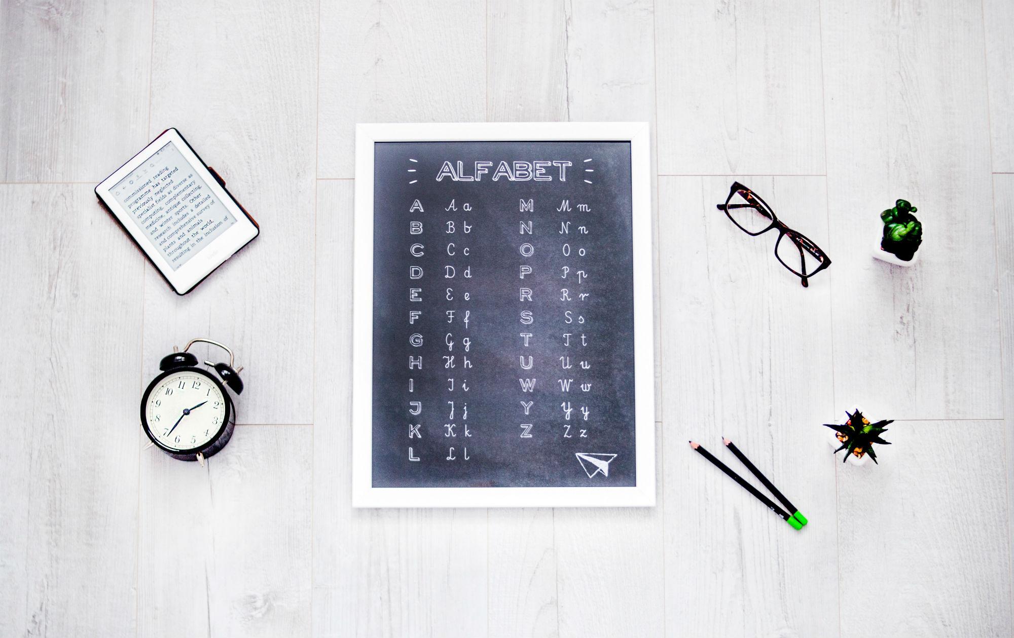 L'alphabet En Anglais : Lettres, Prononciation Et Astuces avec Comment Écrire Les Lettres De L Alphabet Français