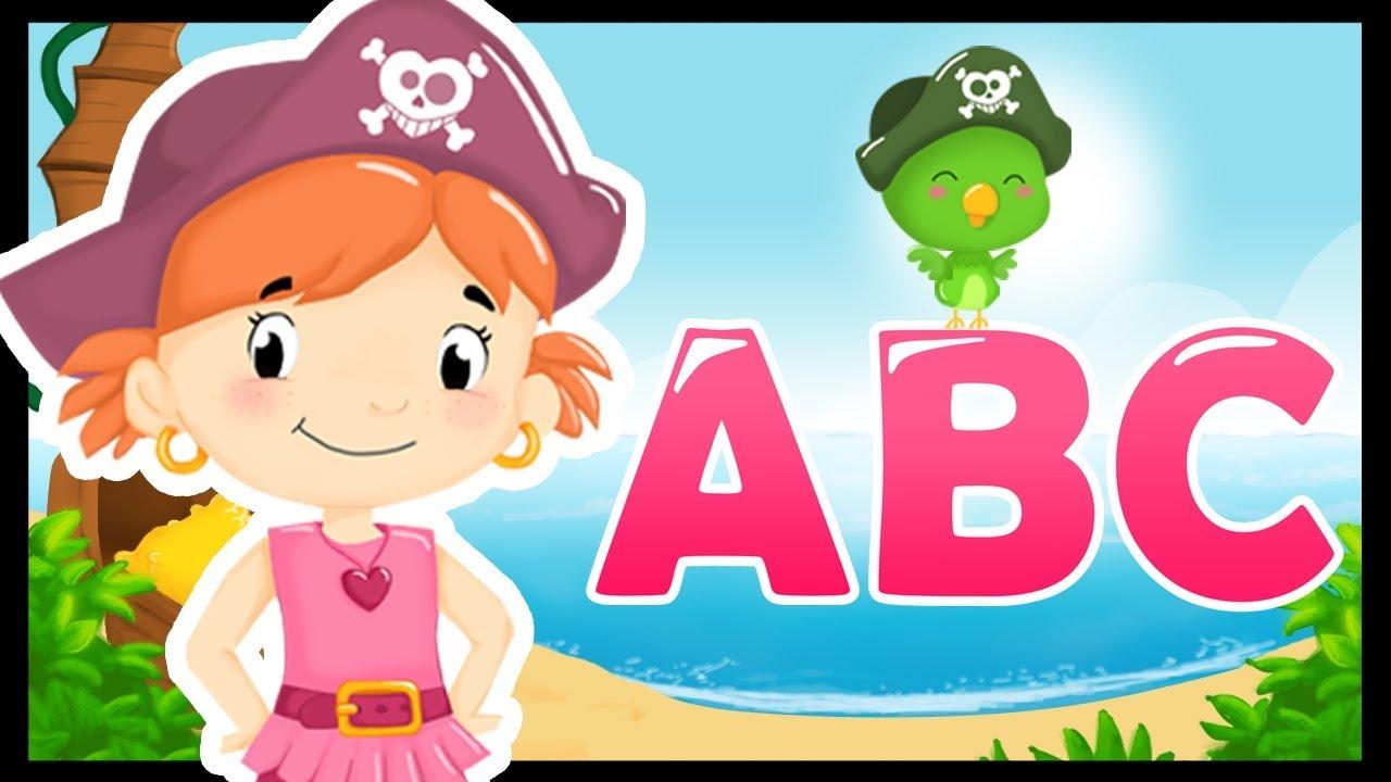 L'alphabet En Français Et En Chanson - Comptines Pour Apprendre Avec Les  Pirates - Titounis à Apprendre Alphabet Francais