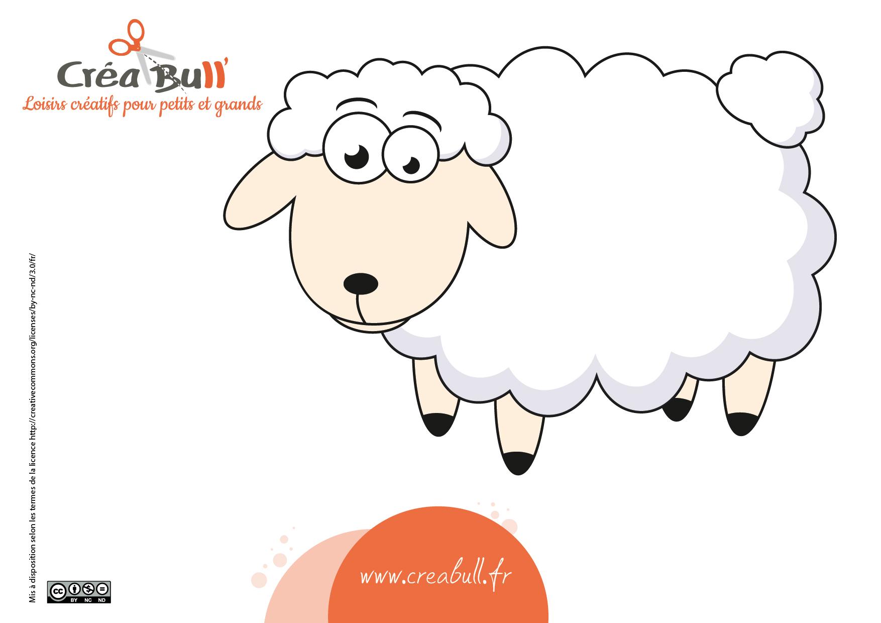 L'animal Du Mois : Le Mouton - Manzabull' intérieur Photo De Mouton A Imprimer