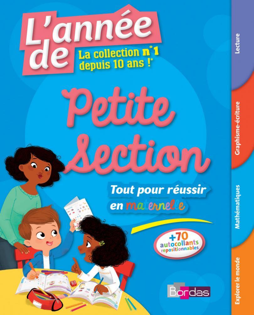L'année De La Petite Section - Toutes Les Matières * Cahier intérieur Livre Graphisme Maternelle