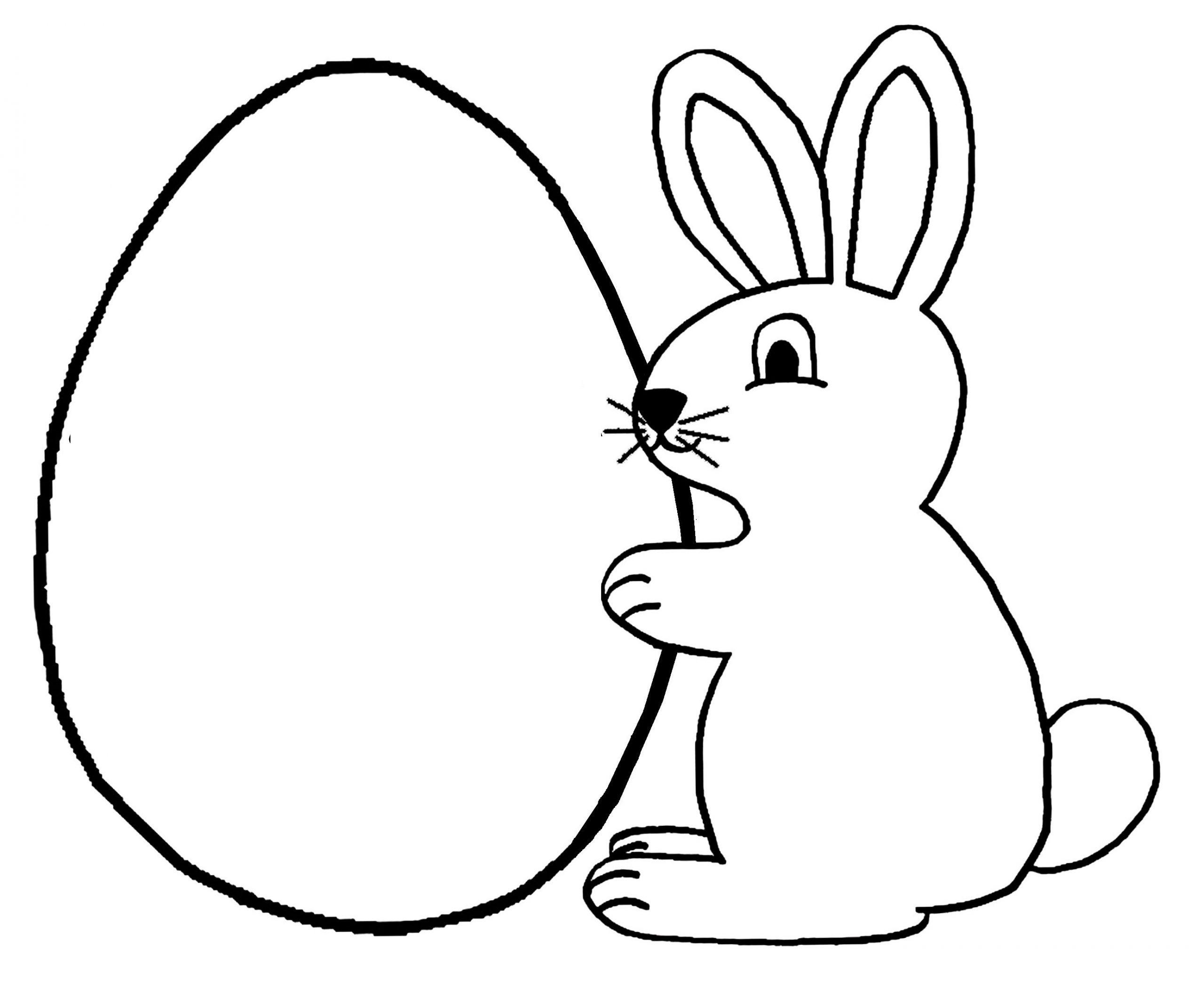 Lapin #13 (Animaux) – Coloriages À Imprimer destiné Dessin De Lapin A Imprimer
