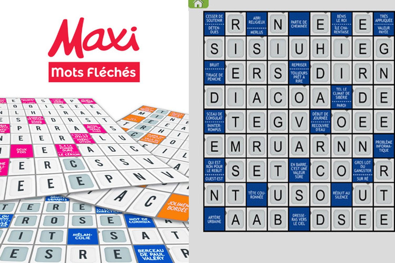 """L'application """"maxi Mots Fléchés"""" Est Désormais Disponible concernant Pas Simple Du Tout Mots Fleches"""