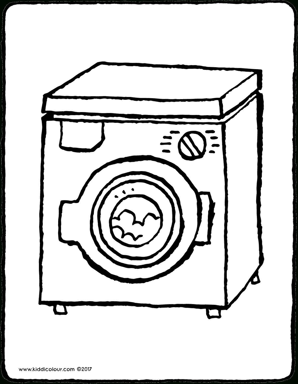 Lave-Linge - Kiddicoloriage destiné Coloriage Aspirateur