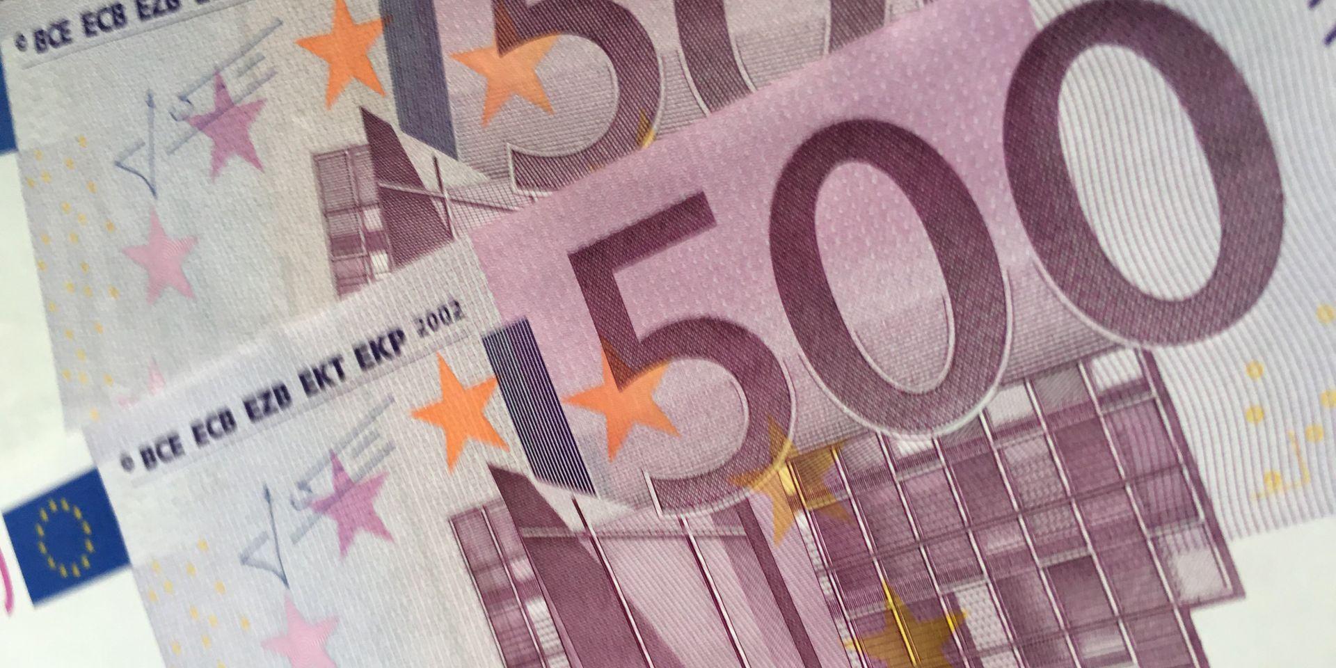 Le Billet De 500 Euros Vit Ses Dernières Heures - La Libre à Billets Et Pièces En Euros À Imprimer