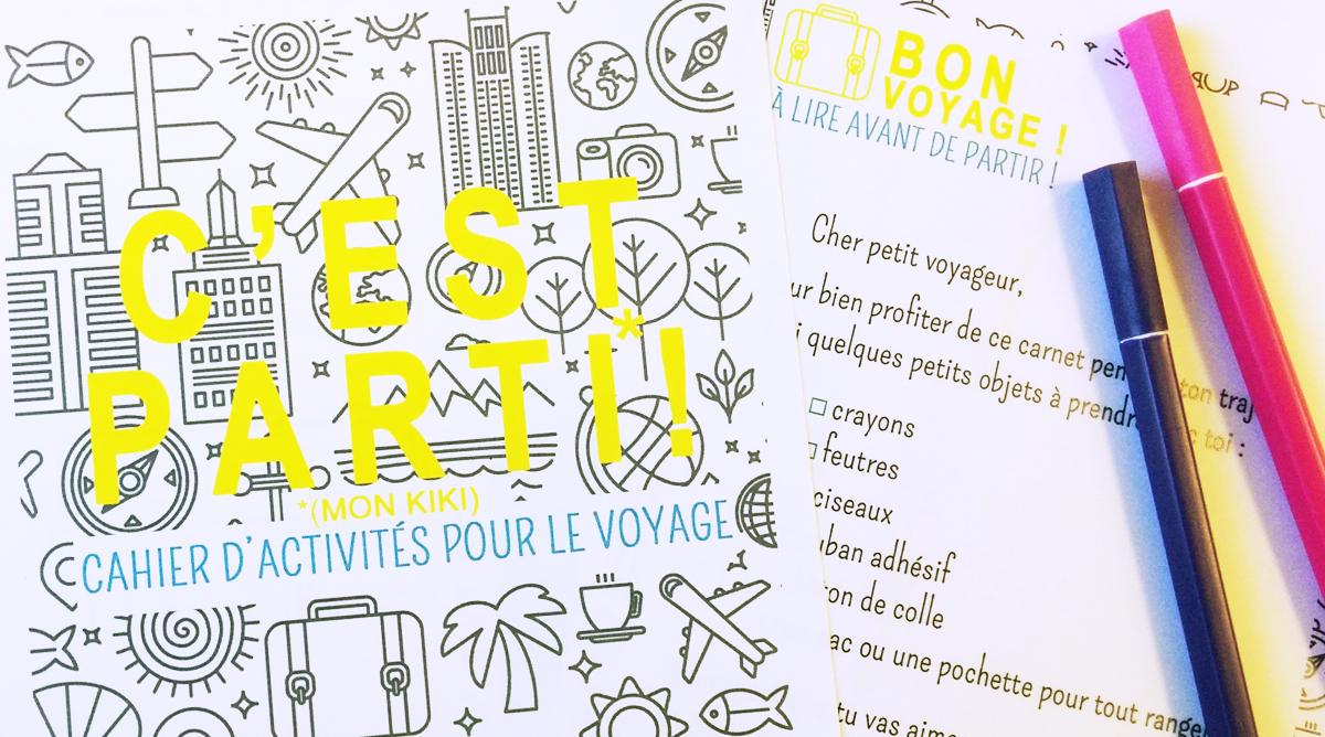 Le Cahier De Jeux Des Enfants Pour La Route - Momes destiné Carnet De Vacances À Imprimer