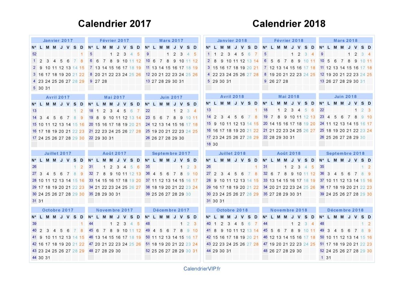 Le Calendrier Scolaire 2017-2018 À Imprimer - Bdm encequiconcerne Calendrier 2017 En Ligne