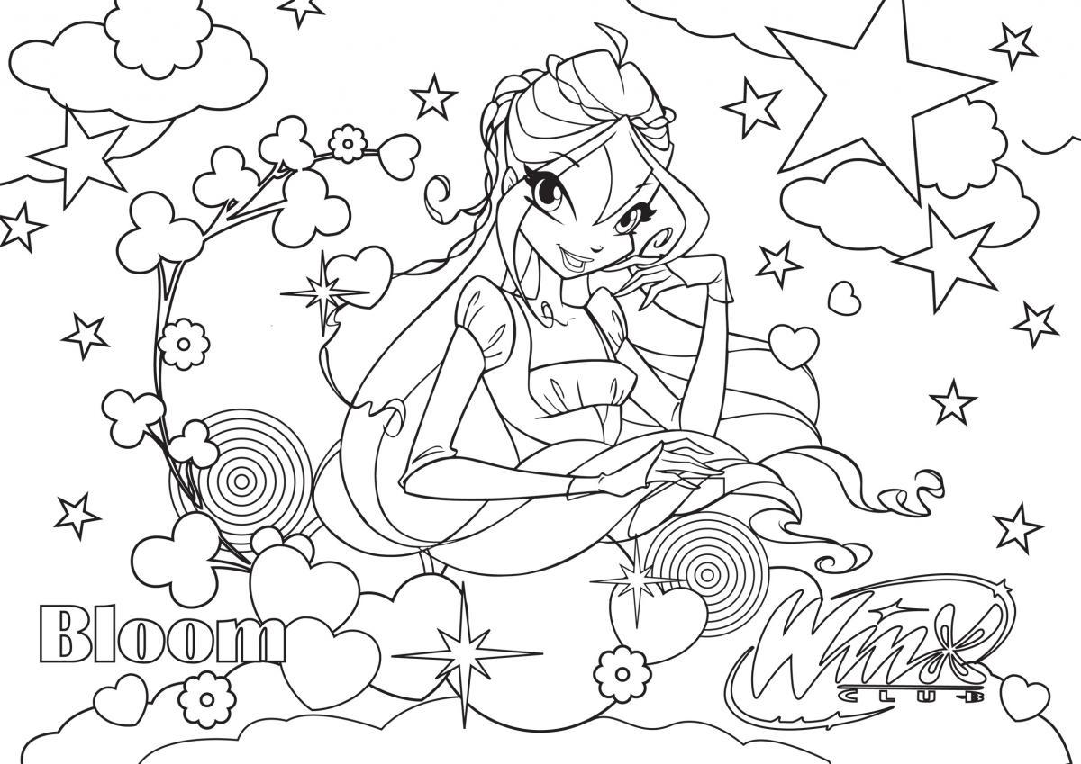 Le Coloriage, Un Relax Magique ! | Winx Club pour Coloriage Magique Petite Section