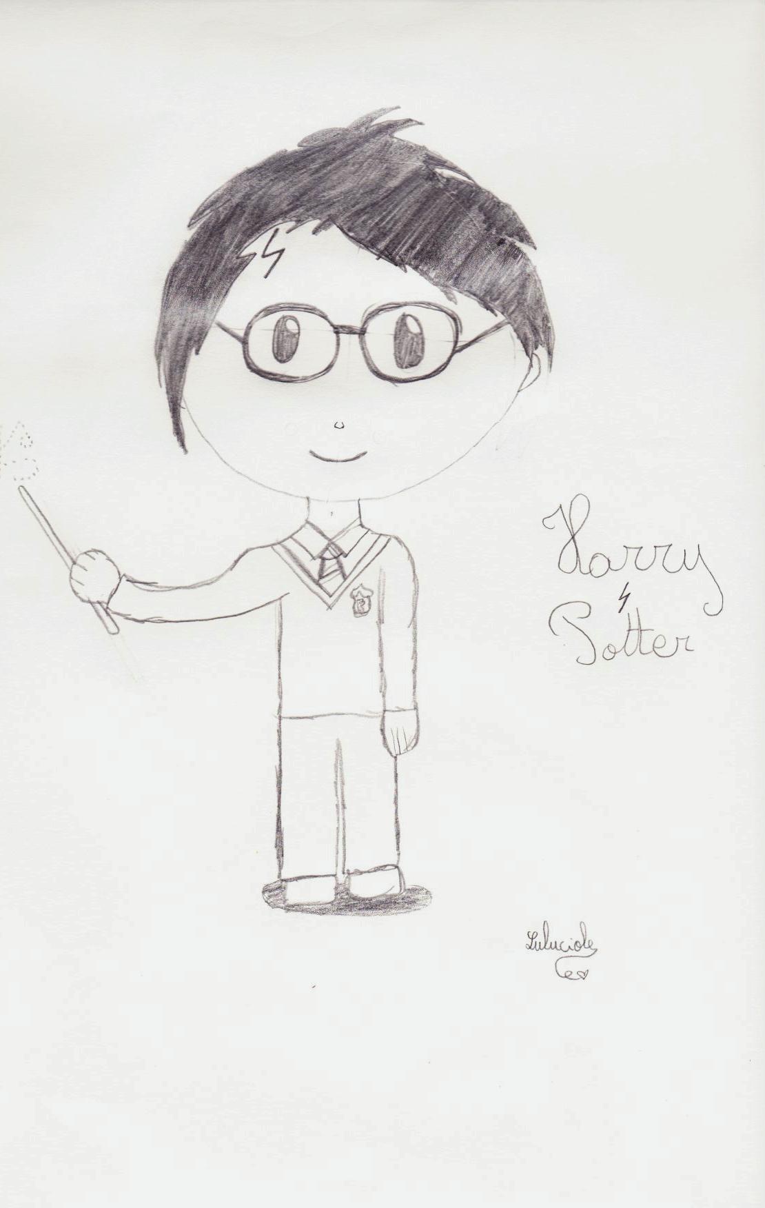 Le Dessin, Harry Potter Et Moi, Une Longue Histoire <3 destiné Dessin D Harry Potter