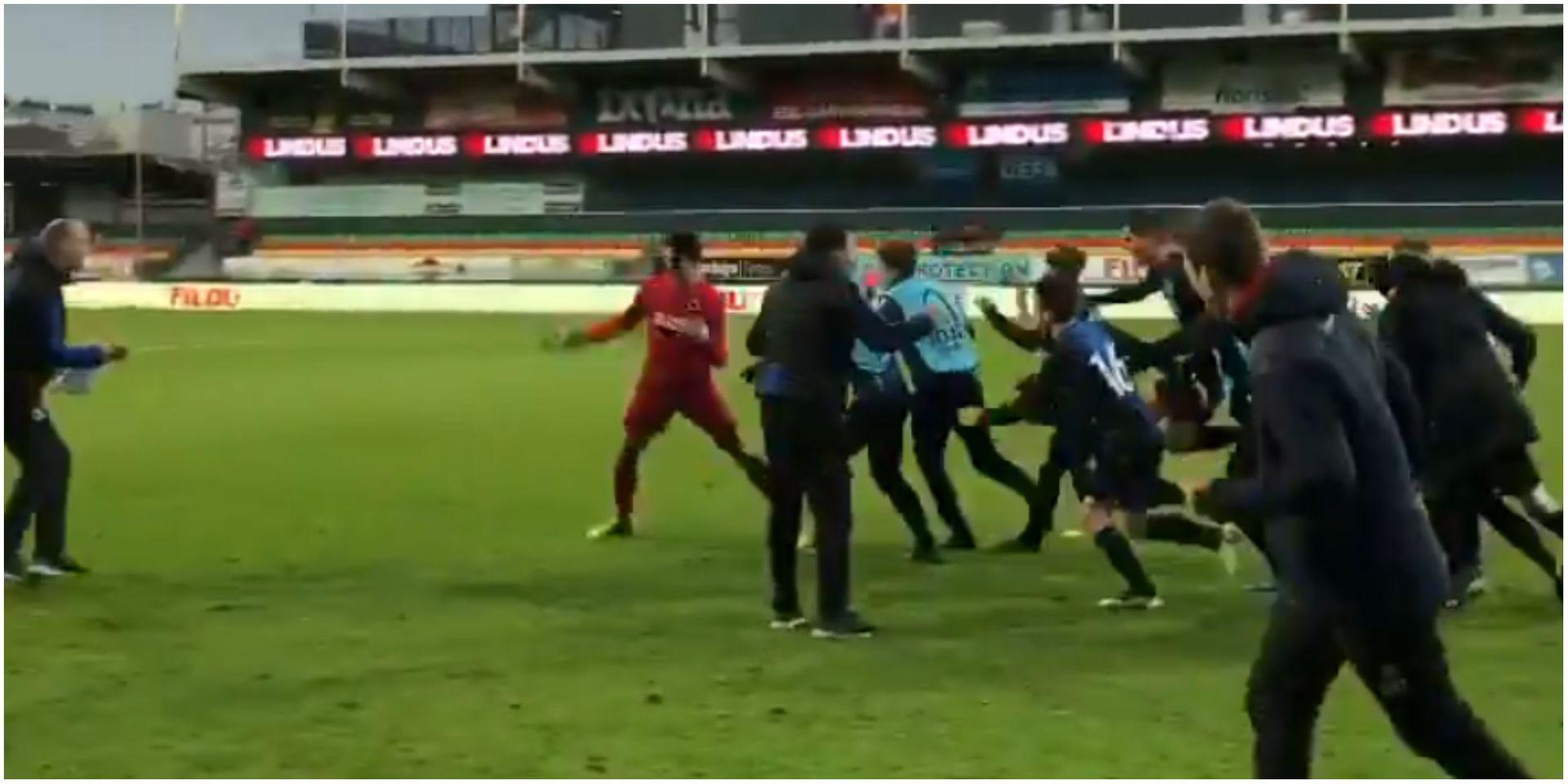 Le Gardien De Bruges Qualifie Son Équipe En Youth League pour Jeux De Gardien