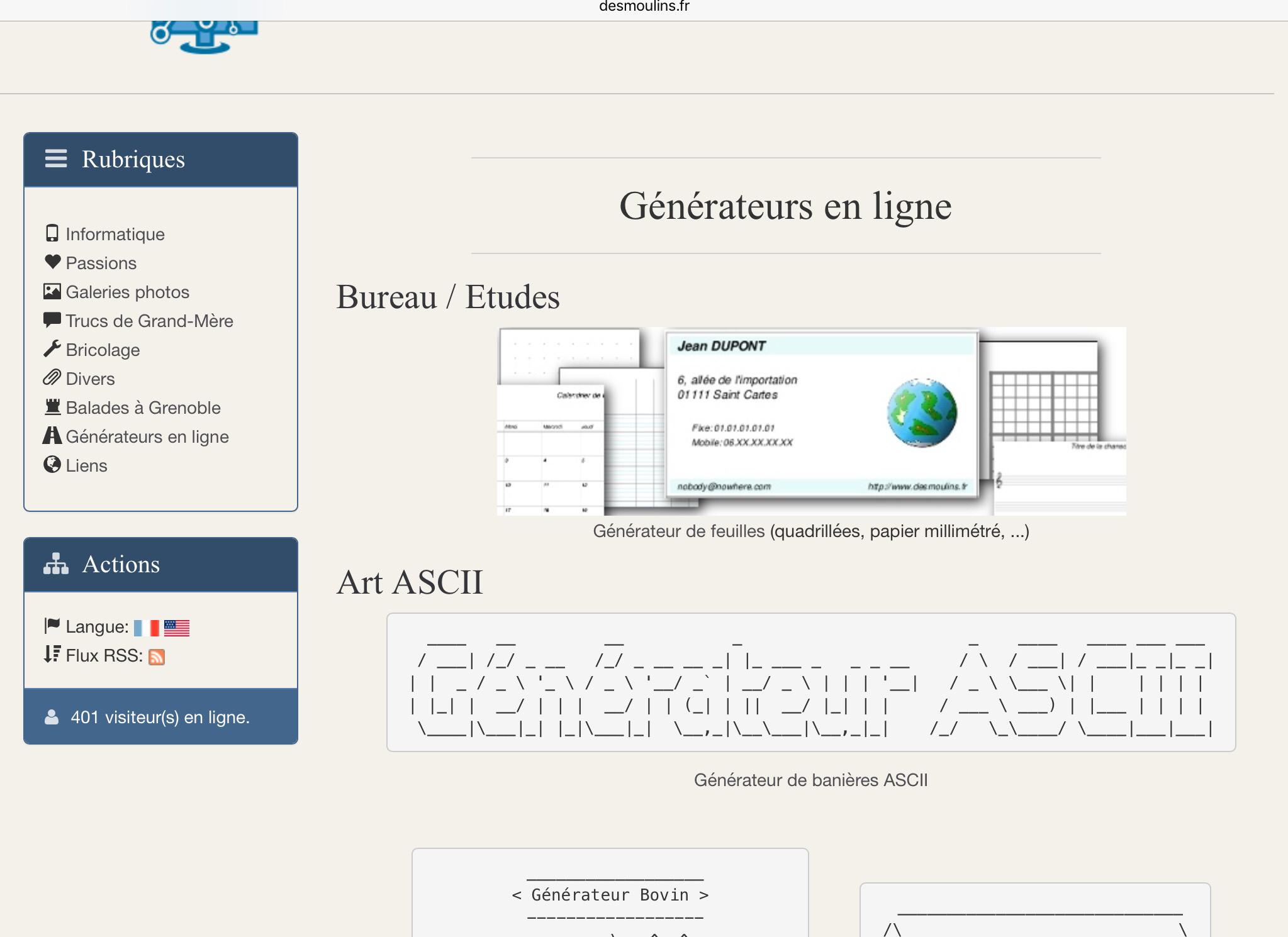Le Générateur De Feuilles : Http://.desmoulins.fr avec Feuille Lignée A Imprimer