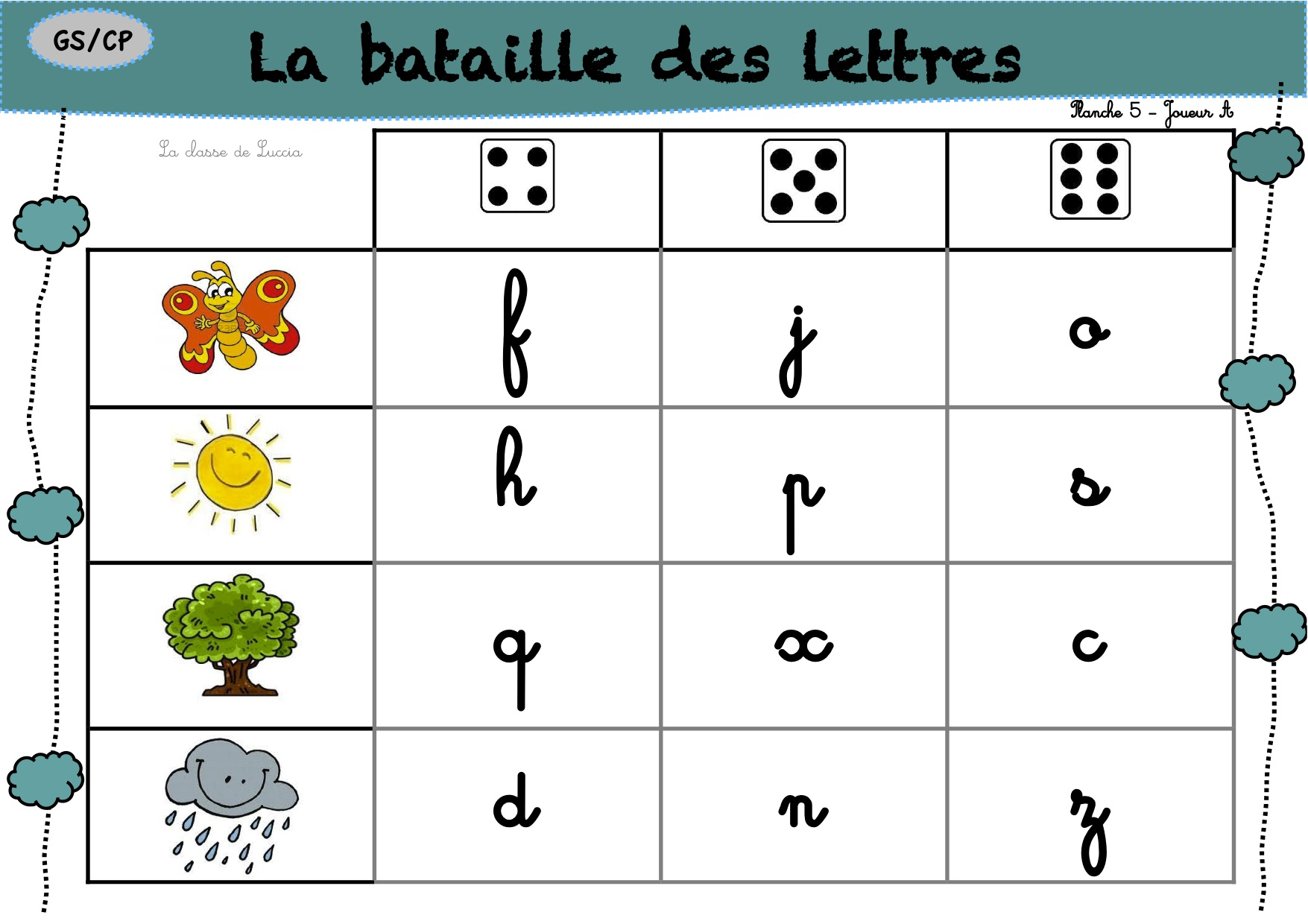 Le Guilitoc Des Lettres - La Classe De Luccia ! encequiconcerne Jeux De Lettres Gratuits