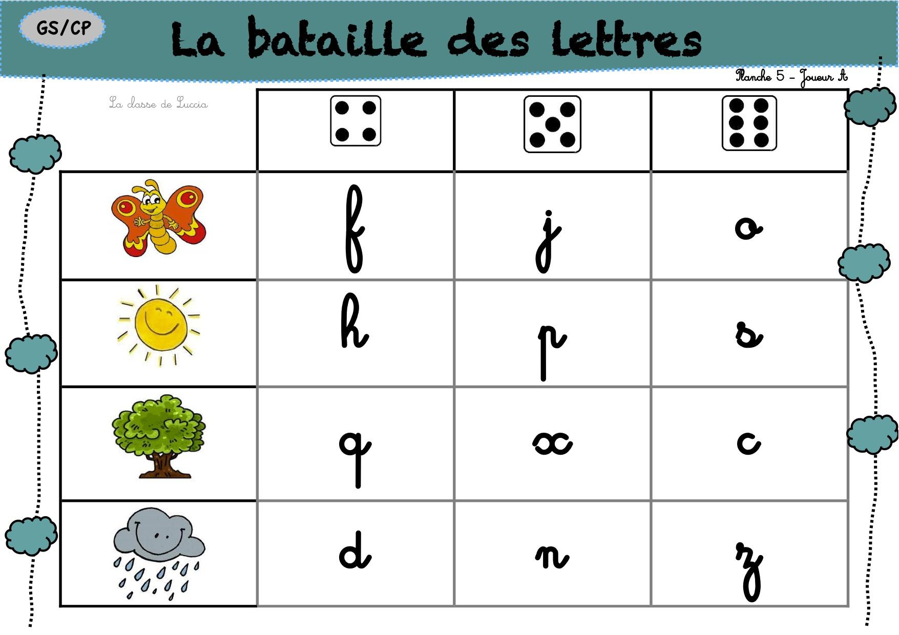 Le Guilitoc Des Lettres - La Classe De Luccia ! tout Jeux Alphabet Maternelle Gratuit