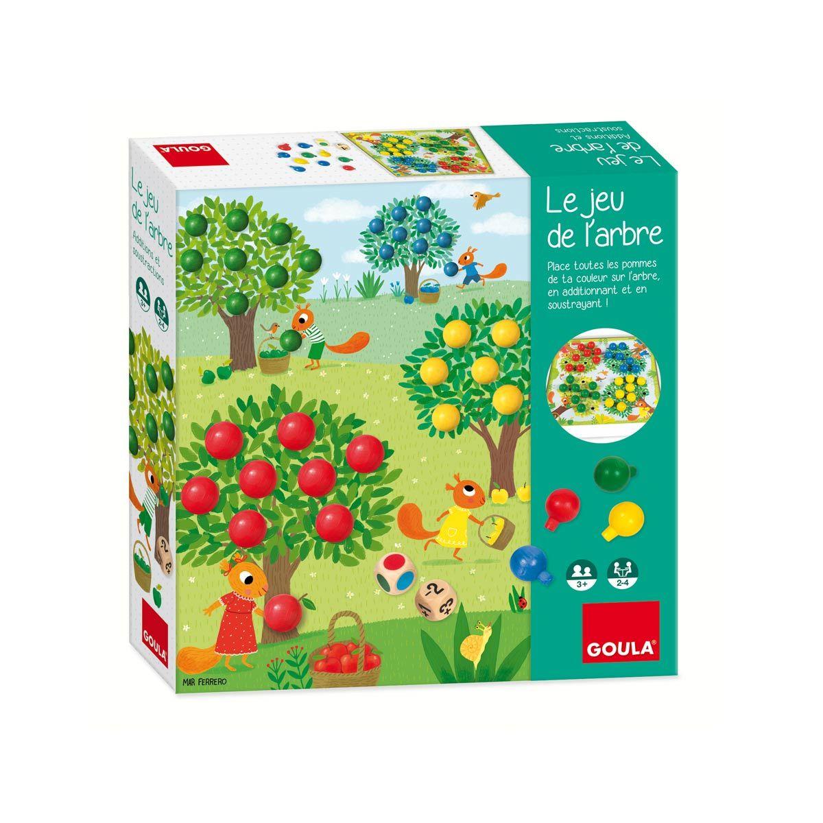 Le Jeu De L'arbre Goula | Jeux Enfant 4 Ans, Jeux Et Jeux Eveil destiné Jeux Bebe 3 Ans