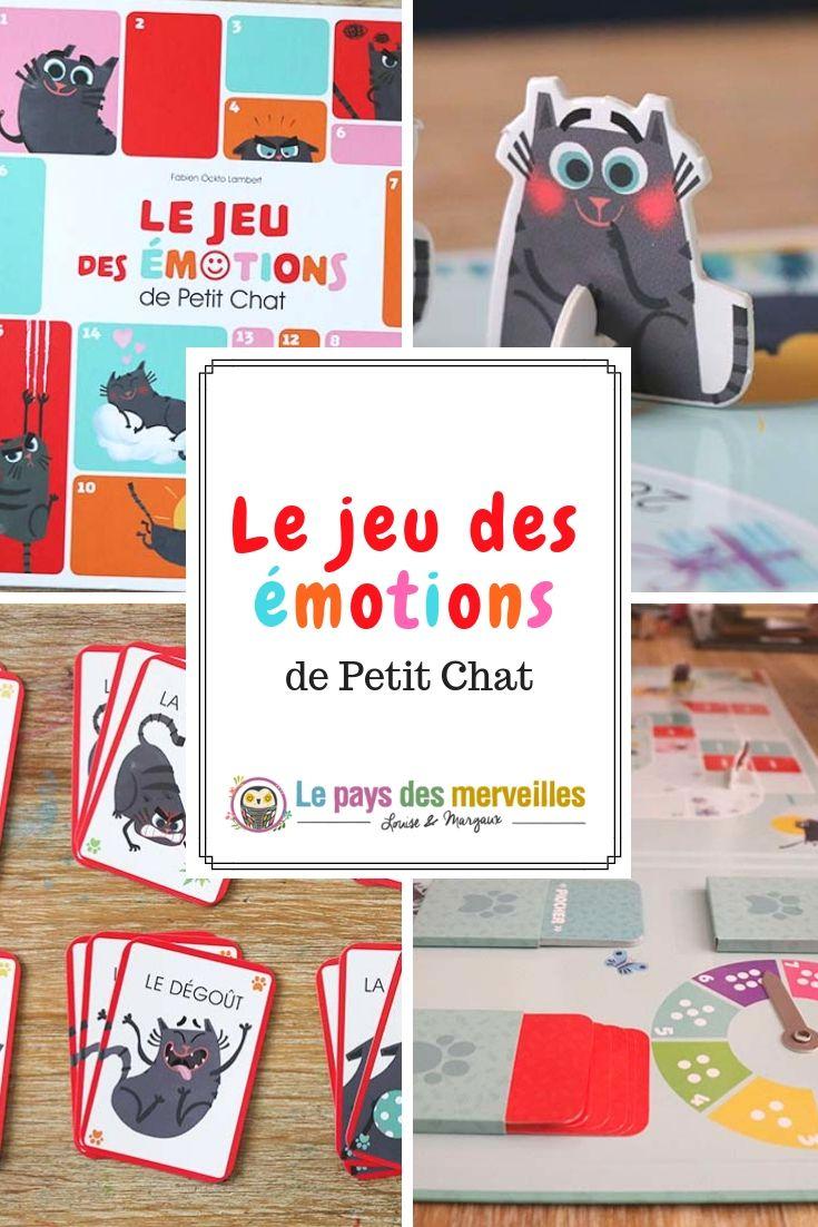 Le Jeu Des Émotions De Petit Chat   Jeux Éducatifs encequiconcerne Petit Jeu Maternelle