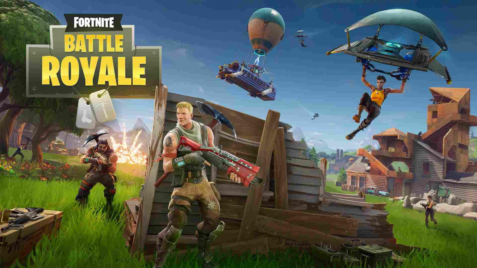 Le Jeu Fortnite Lance Son Mode Battle Royale intérieur Jeux De Tout Gratuit