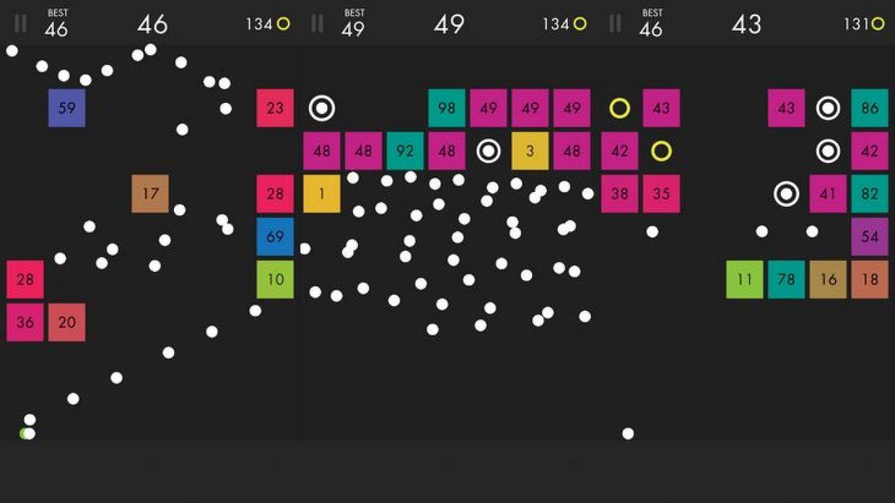 Le Jeu Mobile Du Jour : Ballz (App Store, Google Play destiné Jeux De Casse Brique Gratuit En Ligne