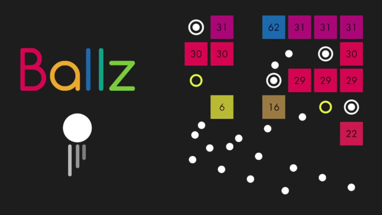 Le Jeu Mobile Du Jour : Ballz (App Store, Google Play pour Casse Brique Gratuit En Ligne