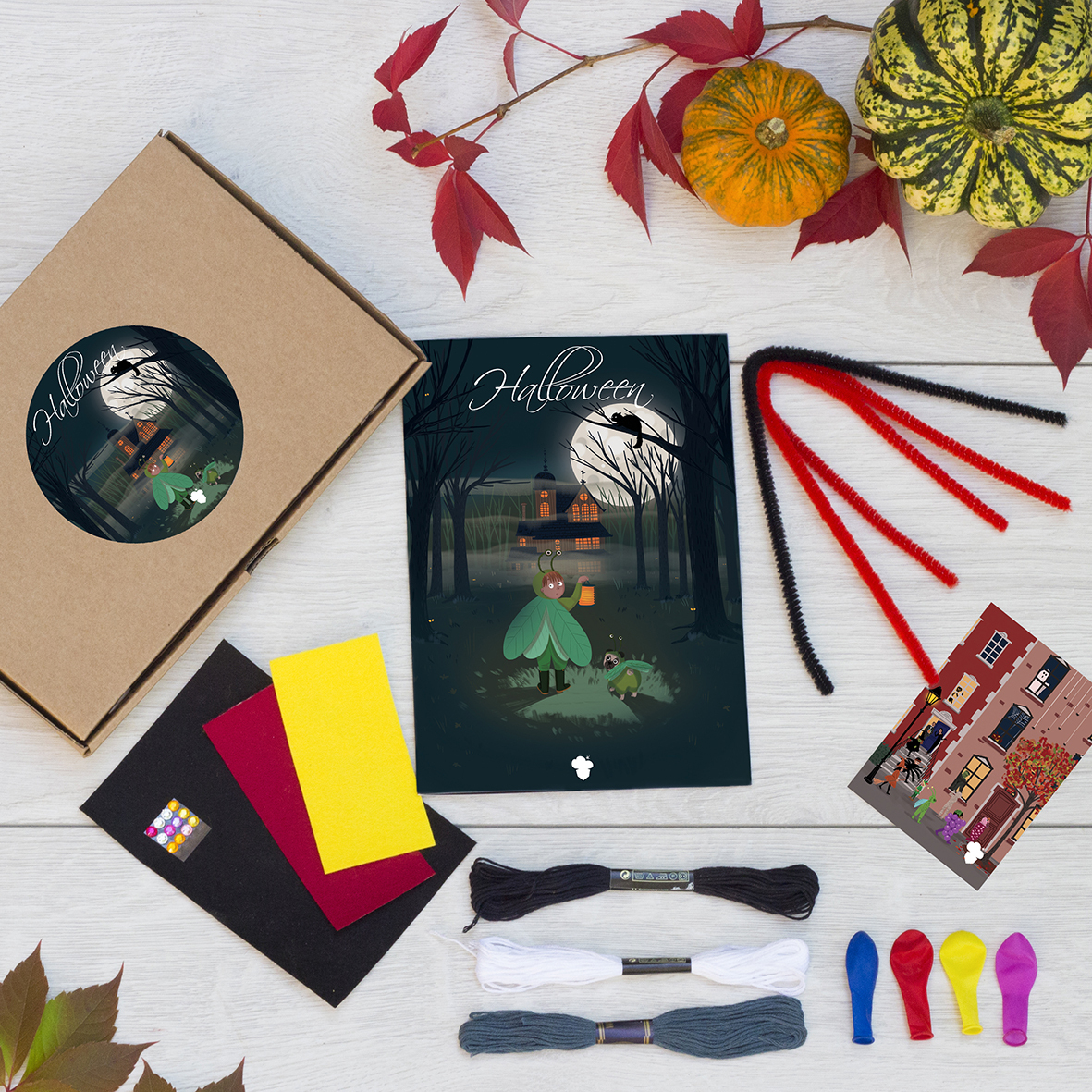 Le Kit Créatif Halloween Pour Les Enfants De 5 À 12 Ans dedans Activité Manuel Pour Enfant