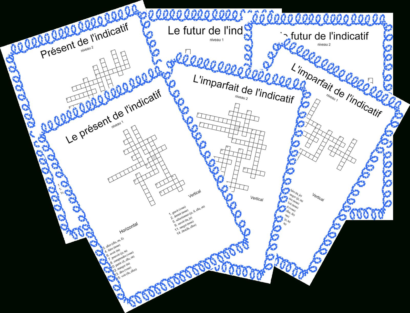 Le Livre De Sapienta: Mots Croisés Conjugaison avec Mots Croisés Cm2 À Imprimer