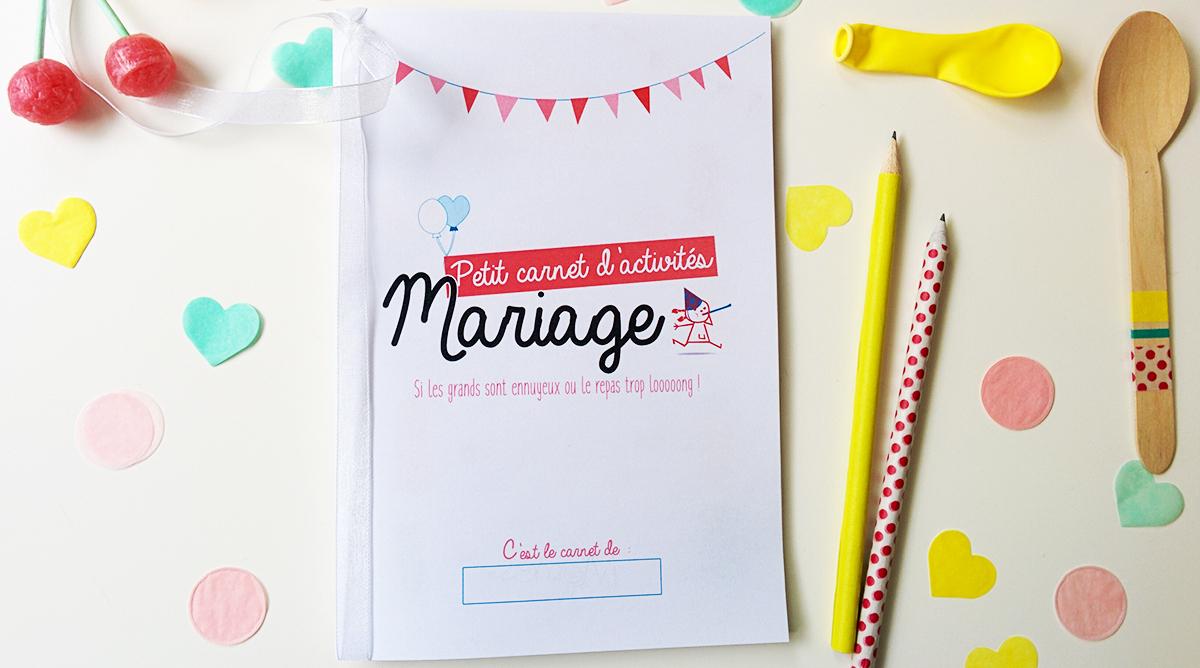 Le Livret De Coloriages Et Jeux Pour Enfant À Un Mariage à Jeux Enfant Dessin
