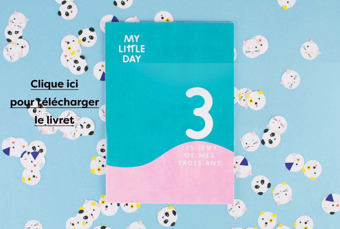 Le Livret De Jeux Des 3 Ans - Les Conseils - My Little Day à Jeux Pour Un Enfant De 3 Ans