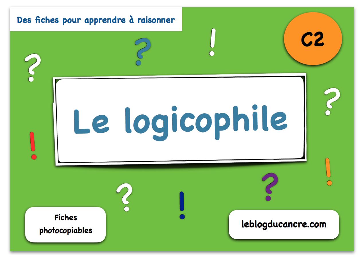 Le Logicophile Fiches De Raisonnement Logique - Cycle 2 intérieur Je De Logique