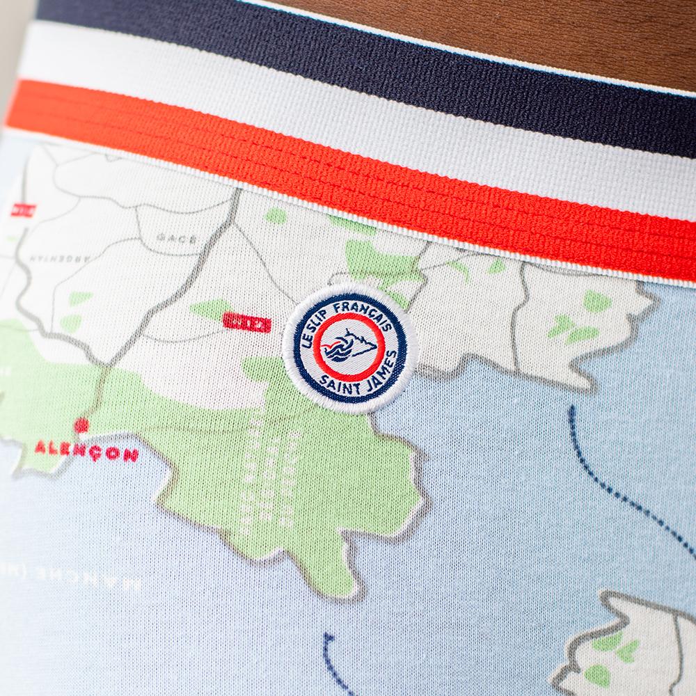 Le Marius Carte Normandie - Boxer Carte Normandie - S pour Carte De Fra