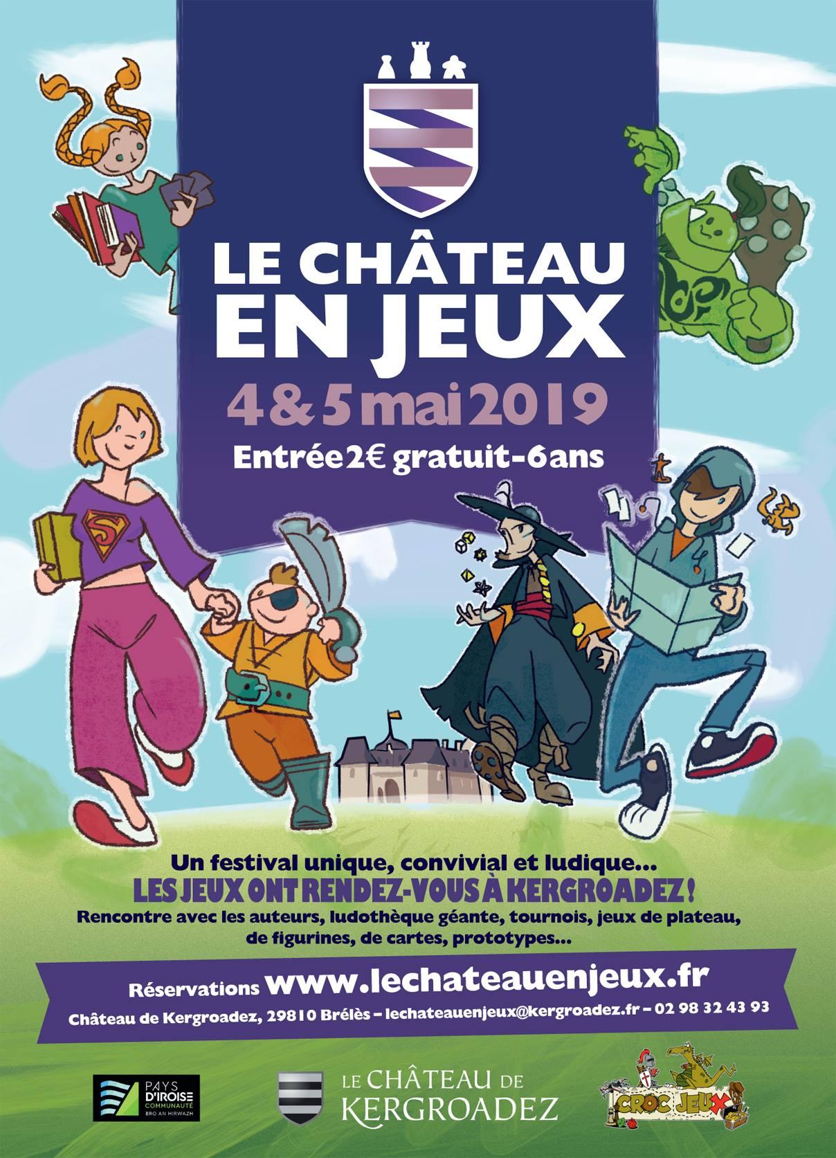 Le Meeple Breton: [2019] 4-5 Mai : Le Château En Jeux (Brélès) tout Jeux 4 Ans Gratuit