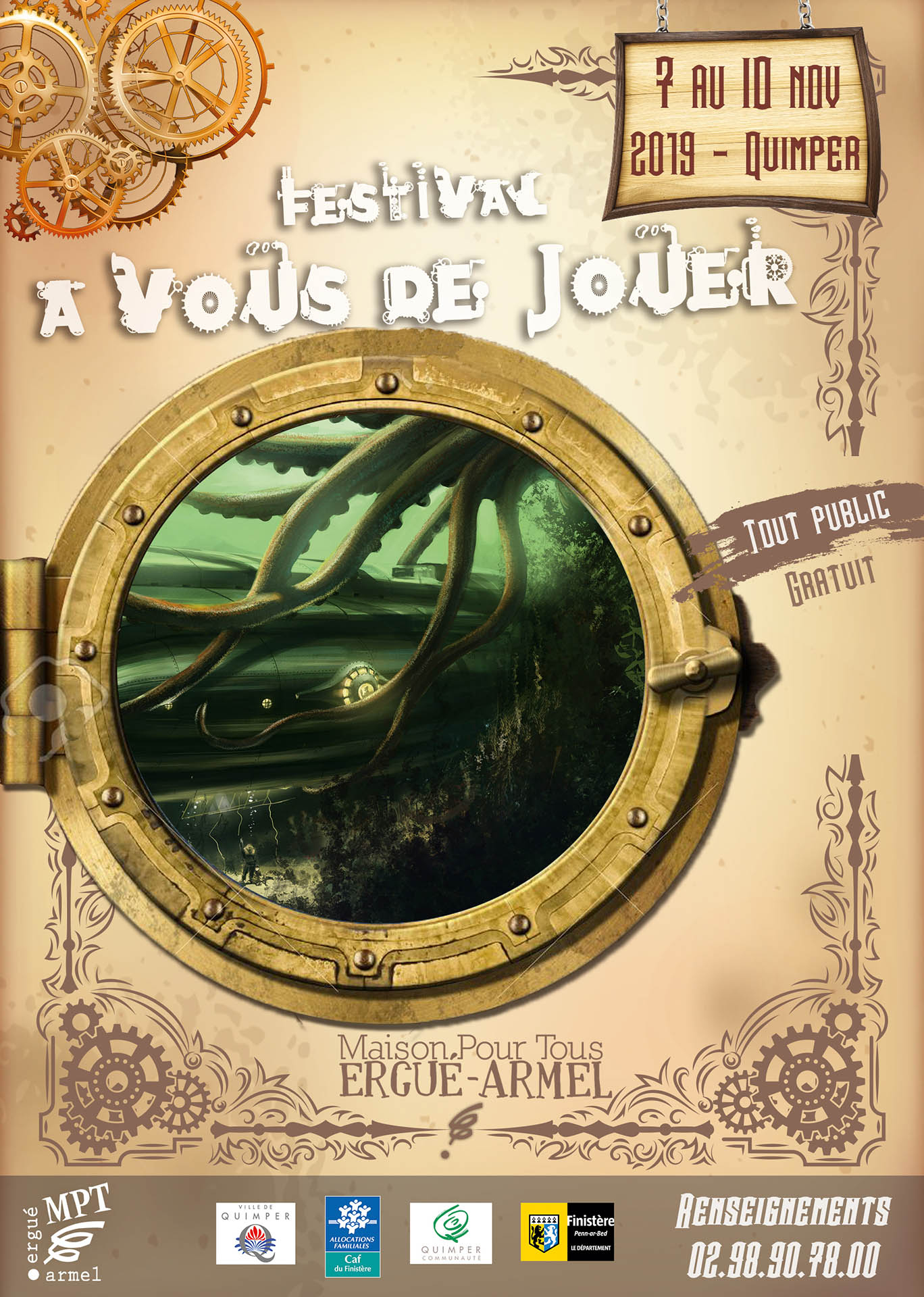 Le Meeple Breton: [2019] 7-10 Novembre : A Vous De Jouer dedans Jouer Puzzle Gratuit