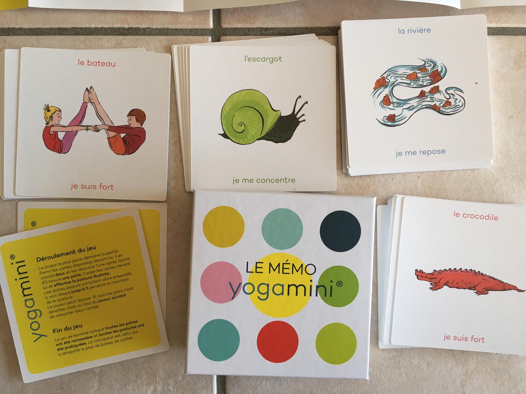 Le Mémo Yogamini : Un Jeu Éducatif, D'éveil Et De Mémoire à Jeux De Memory Pour Enfants