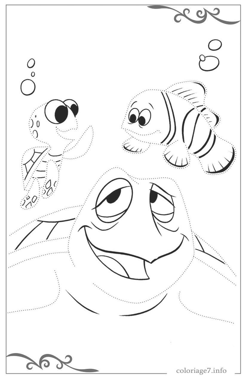 Le Monde De Nemo Telecharger Coloriages Gratuits A Imprimer intérieur Tous Les Coloriages Du Monde