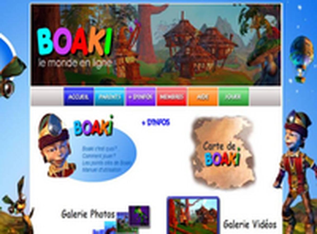 Le Monde D'entraide Virtuel De Boaki : Le 1Er Jeu En Réseau intérieur Jeu Pc Adibou