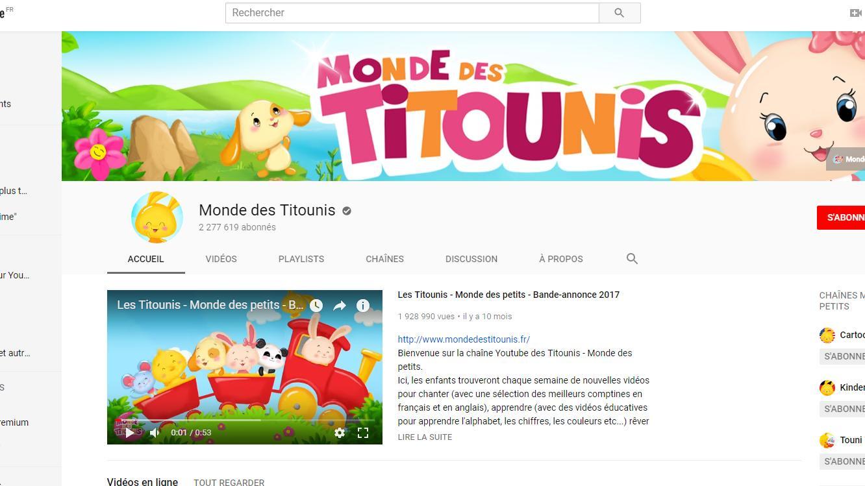 Le Monde Des Titounis, Une Mystérieuse Chaîne  Pour destiné Apprendre Les Animaux Pour Bebe