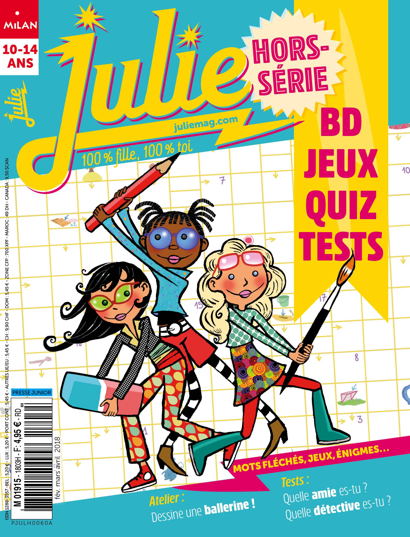Le Nouveau Hors-Série Jeux Est Sorti ! - Magazine Julie - Juliemag encequiconcerne Jeux Gratuit Fille 5 Ans