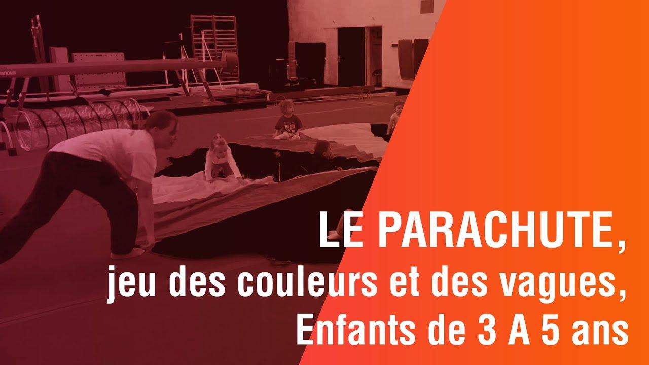 Le Parachute, Jeu Des Couleurs Et Des Vagues, Enfants De 3 A 5 Ans à Jeux Enfant De 5 Ans