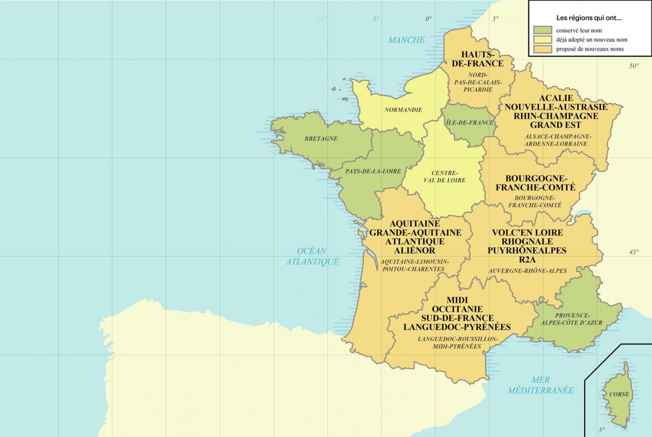 Le Parisien Magazine. Nom D'une Région ! - Le Parisien serapportantà Les Nouvelles Regions