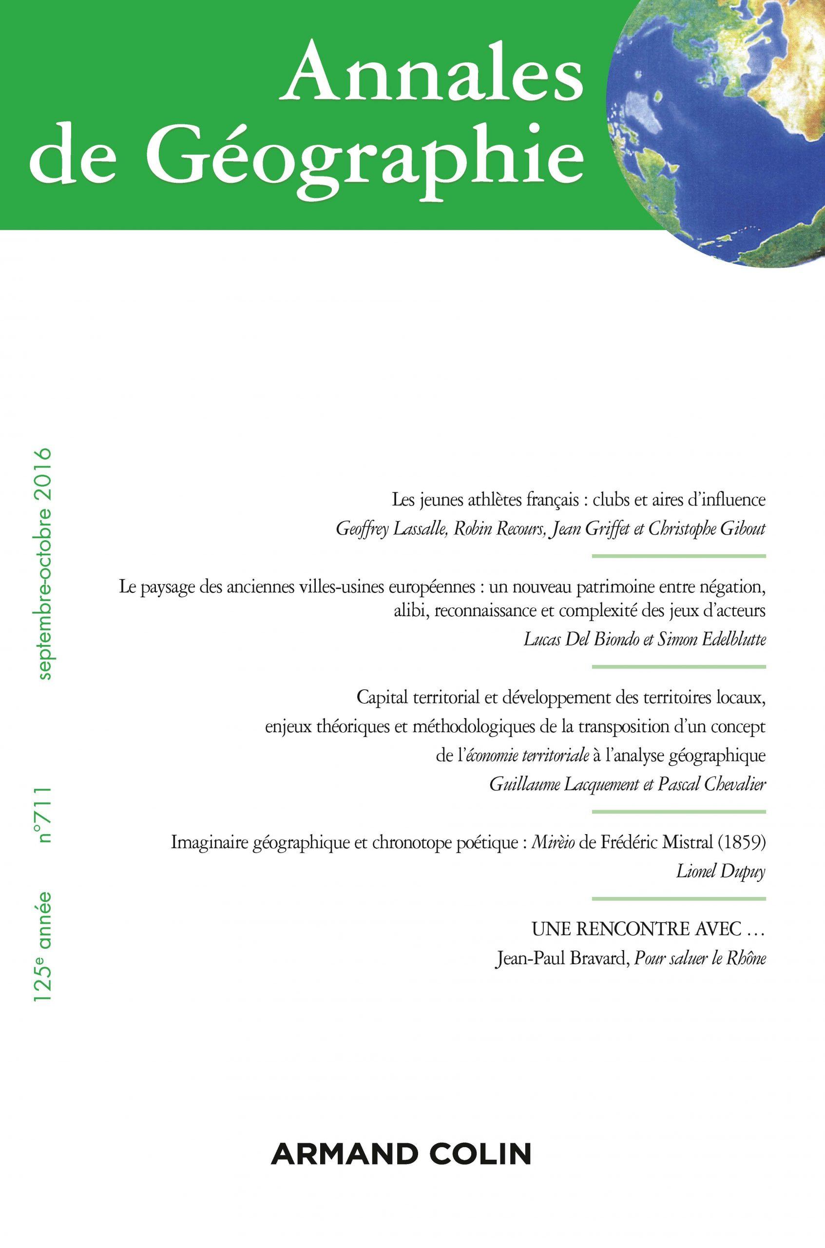 Le Paysage Des Anciennes Villes-Usines Européennes : Un tout Jeu Geographie Ville De France