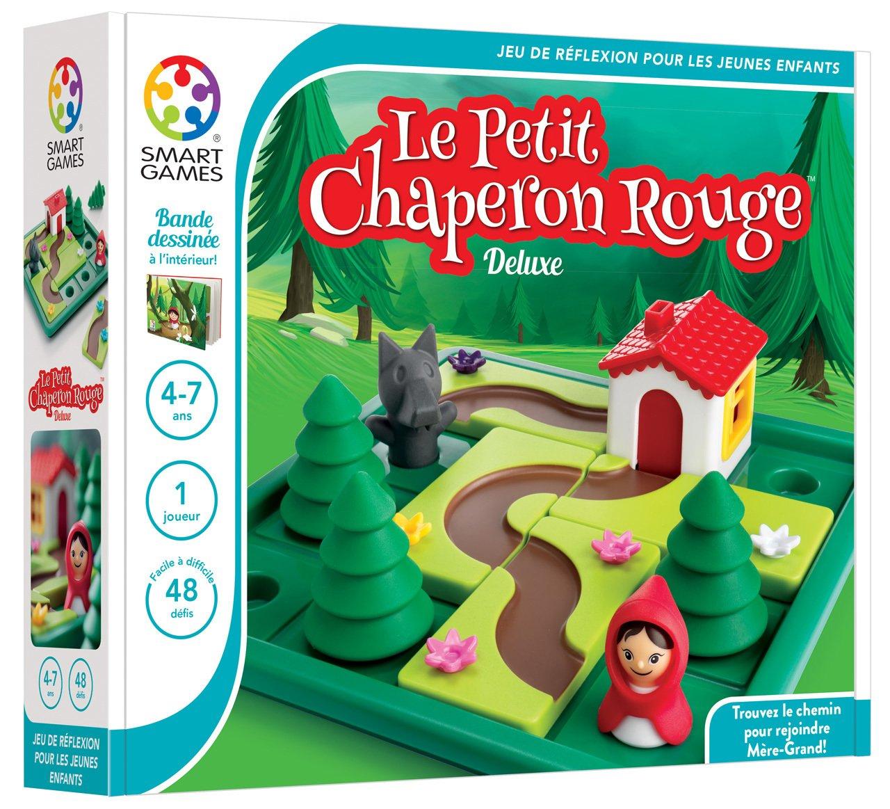 Le Petit Chaperon Rouge, Jeu De Logique Individuel encequiconcerne Jeu Logique Enfant