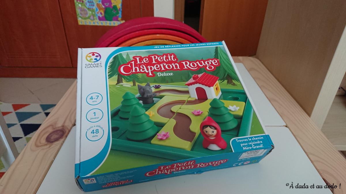 Le Petit Chaperon Rouge, Jeu De Société Pour Les 4-7 Ans - À avec Jeux Pour Enfant 7 Ans