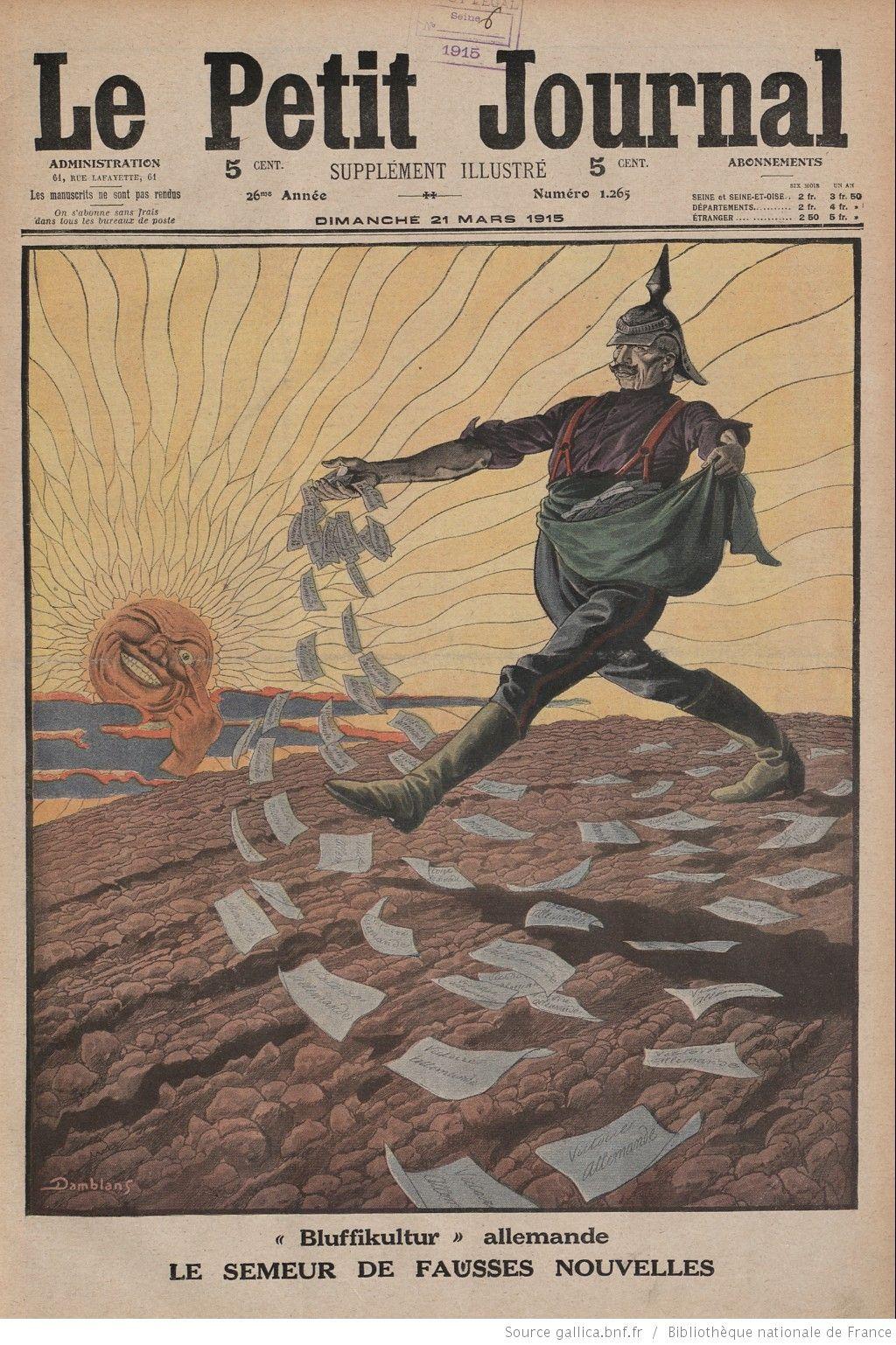 Le Petit Journal: I.dünya Savaşı'nda Yeniliyor Olan (Son dedans Numéro Des Départements