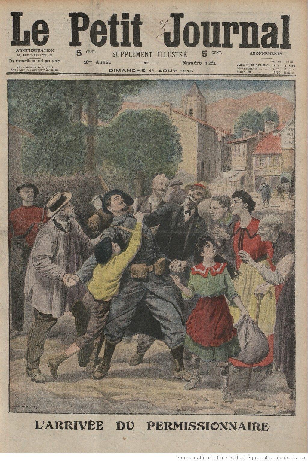 Le Petit Journal. Supplément Du Dimanche | 1915-08-01 destiné Numéro Des Départements