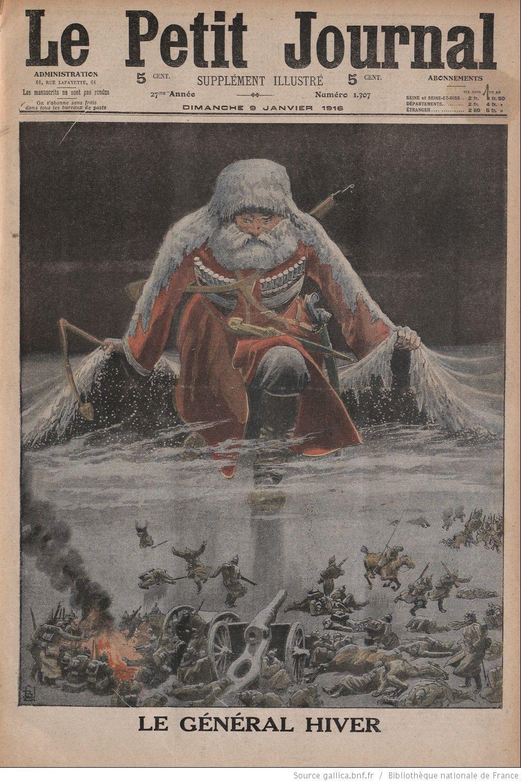 """Le Petit Journal'ın, """"kış Rusya'nın Gizli Silahıdır pour Numéro Des Départements"""