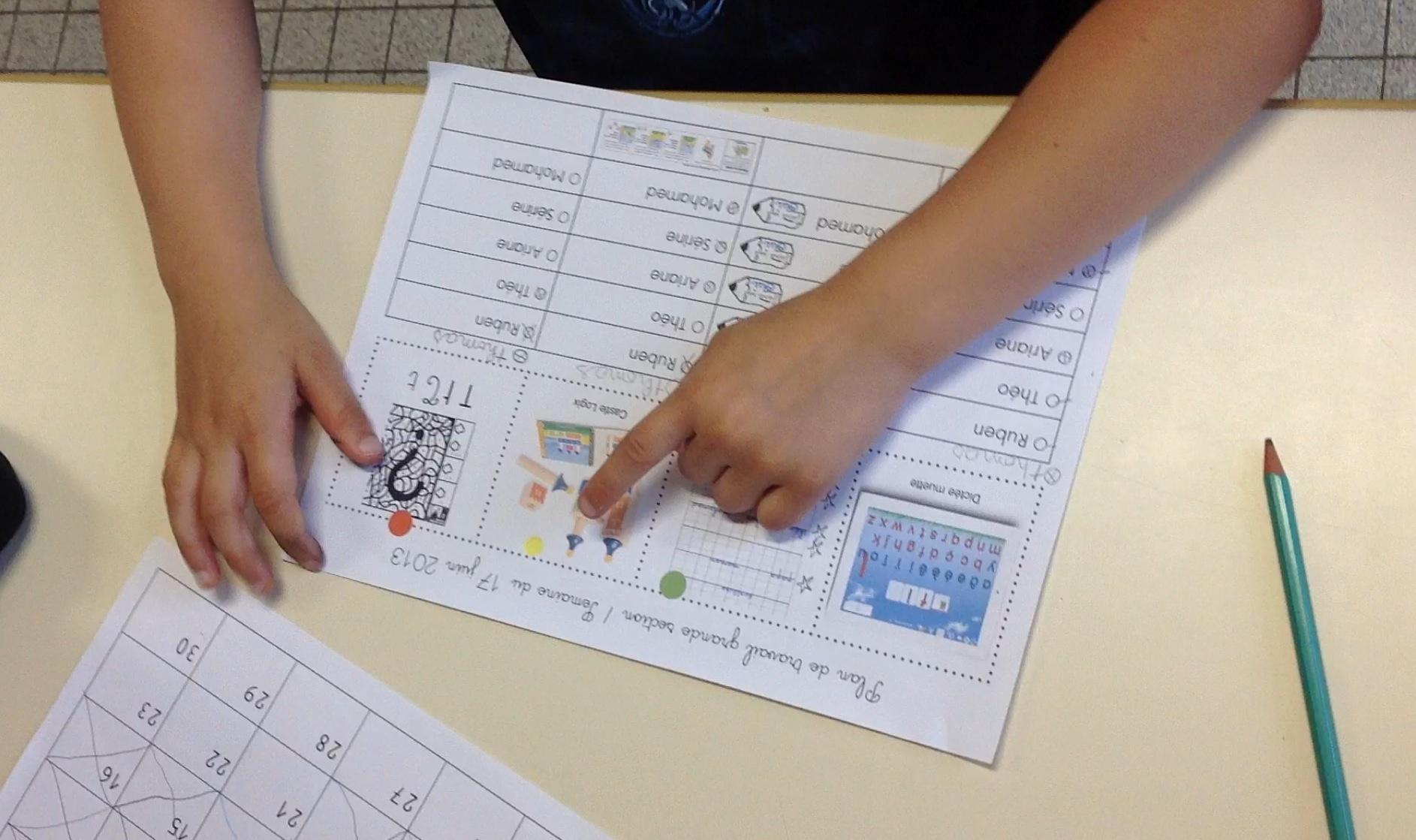 Le Plan De Travail En Grande Section serapportantà Activité Maternelle Grande Section A Imprimer