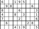 Le Prof De Sudoku: Août 2015 avec Jeu Le Sudoku