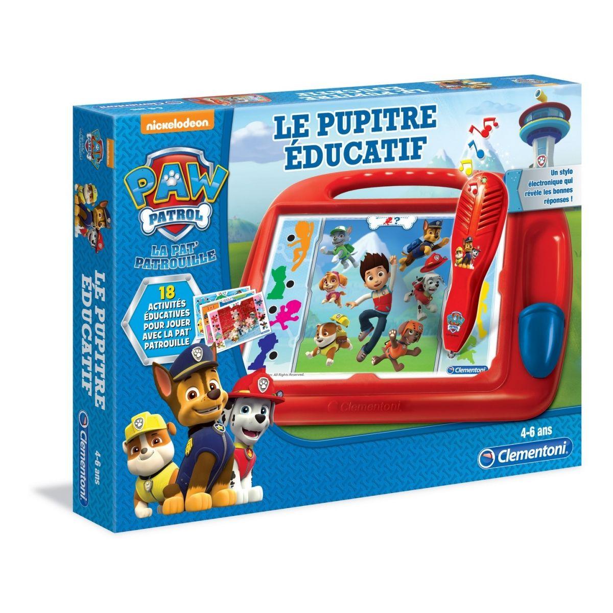 Le Pupitre Éducatif Pat Patrouille - Jeux Éducatifs concernant Jeux Educatif 9 Ans