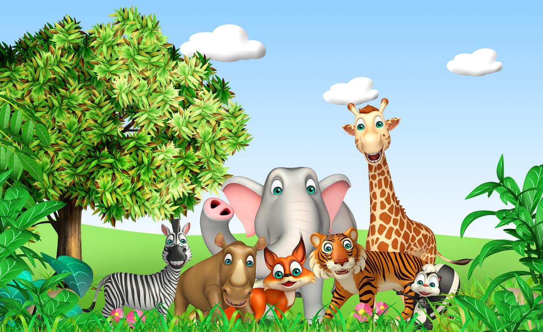 Le Quiz Sur Les Animaux Sauvages serapportantà Quizz Pour Maternelle