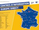 Le Réseau Europe Direct serapportantà Carte Union Europeene