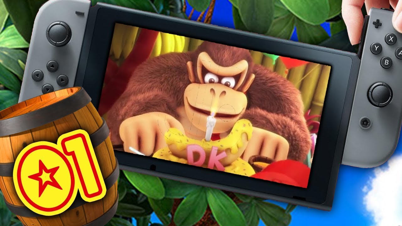 Le Retour D'un Excellent Jeu Sur Switch ! - Donkey Kong Country Tropical  Freeze #01 avec Jeux De Gorille Gratuit