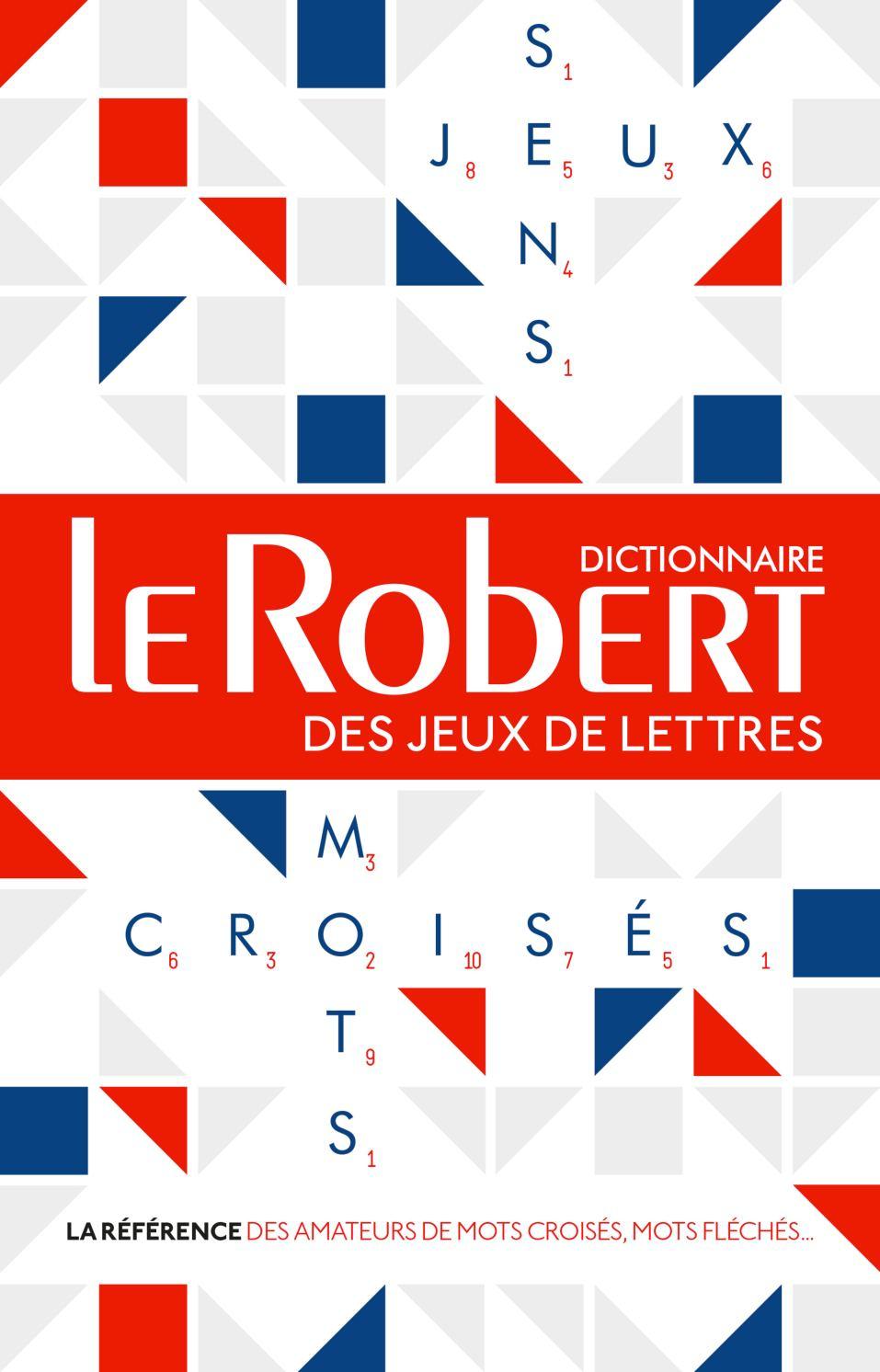 Le Robert Des Jeux De Lettres - Dictionnaire De Mots Croisés tout Jeux Mot Fleches